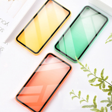 Gradient glass ultra-thin anti-drop iphoneXSmax mobile phone shell AppleXR protective cover for iPhone6/7/8plus bag