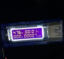 OLED USB detector voltmeter ammeter power capacity tester meter voltage current