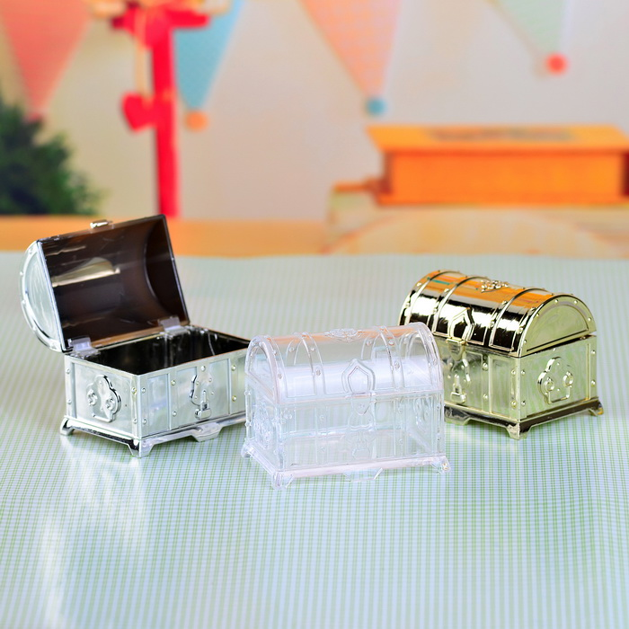 Treasure Chest Favor Box Fashion Boxes Candy Boxes Gift Boxes For Party Guest 12pcs