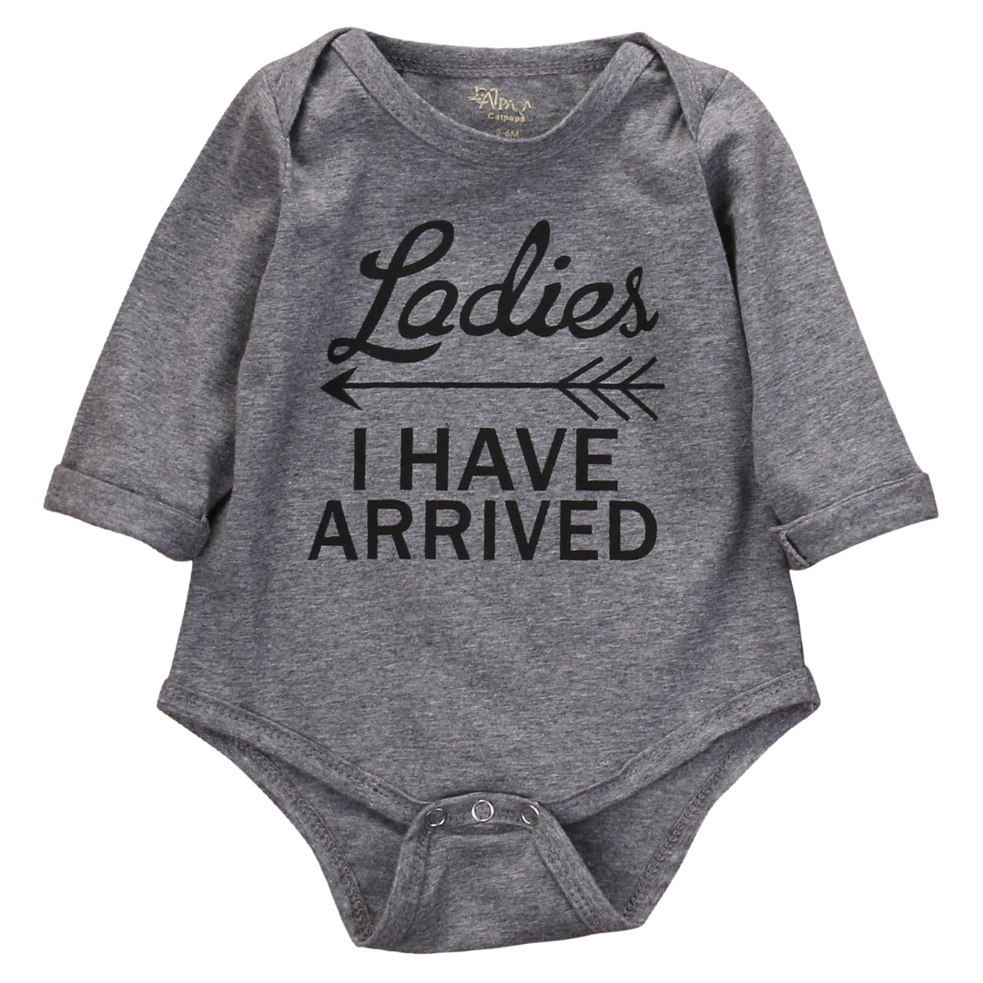 Autumn Winter 2016 Newborn Kids Clothes Baby Girl Boy Long Sleeve Romper  Cotton Jumpsuit Playsuit Outfit - Popular Newborn Winter Outfits-Buy Cheap Newborn Winter Outfits