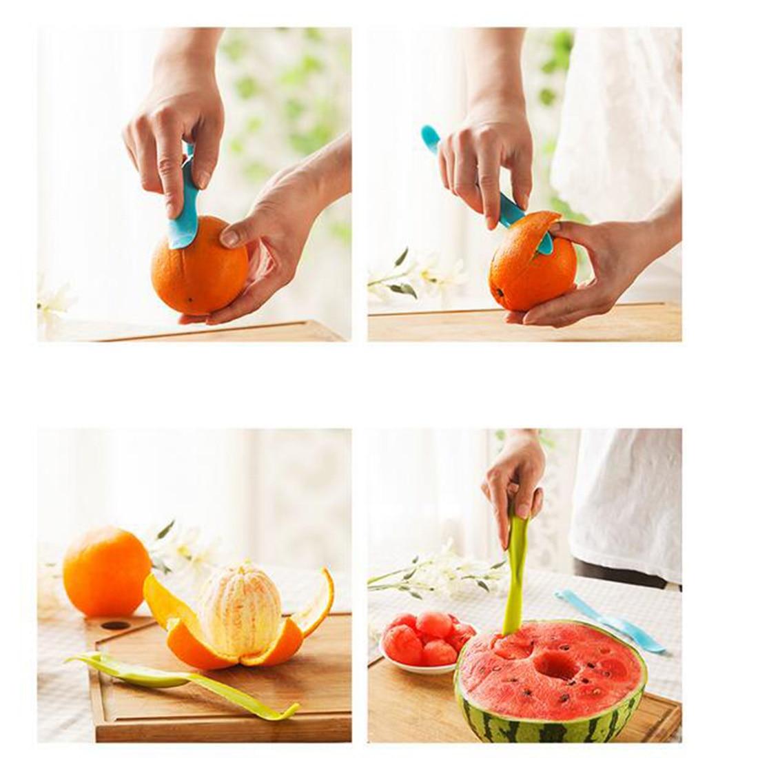 Полезная Главная Хатч прибор милый Универсальный фрукты Ножи Кухня гаджеты Овощечистка Баркер