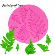 Newest Diy Leaves Silicone Mold Sugarcraft cake decorating tools Fondant Sugar Craft Molds DIY Cake T1325 grape food grade silicone diy candy ice cake chocolate sugar craft fondant sugar craft mold tray decorating tools non stick