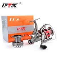 FTK Spinning Reel 5 1BB 4 6 5 0 1 2000 6000 Body Saltewater Carp Fishing