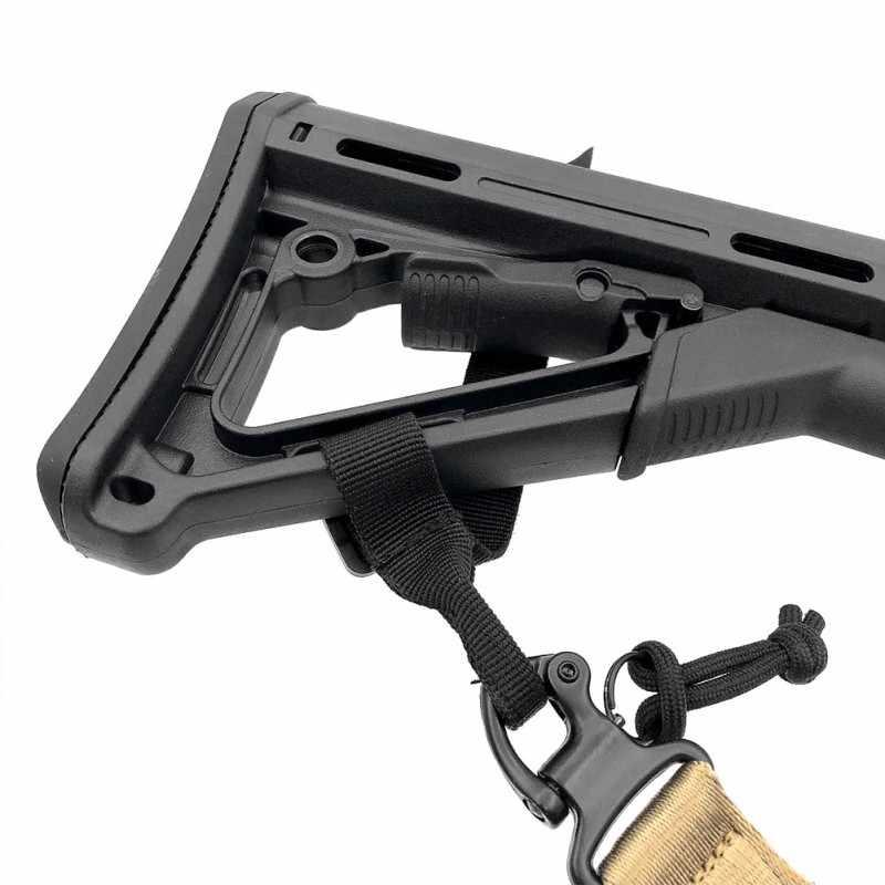 1 piezas de caza culata Honda con lazo de la correa de las correas Rifle archivo adjunto ajustable táctico Honda del arma de Airsoft Honda