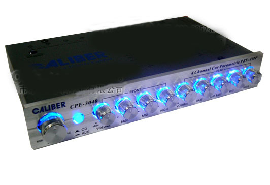 Fort Karrie Cpe 3040 Car 4 Band Equalizer Preamp Eq Sound Field Respectively After Adjustment Function