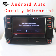 "Crngiar RCD330 Plus R340G 6.5"" MIB Car Radio  Carplay  App Android Auto For VW Tiguan Golf 5 6 Jetta MK5 MK6 Passat Polo Touran"