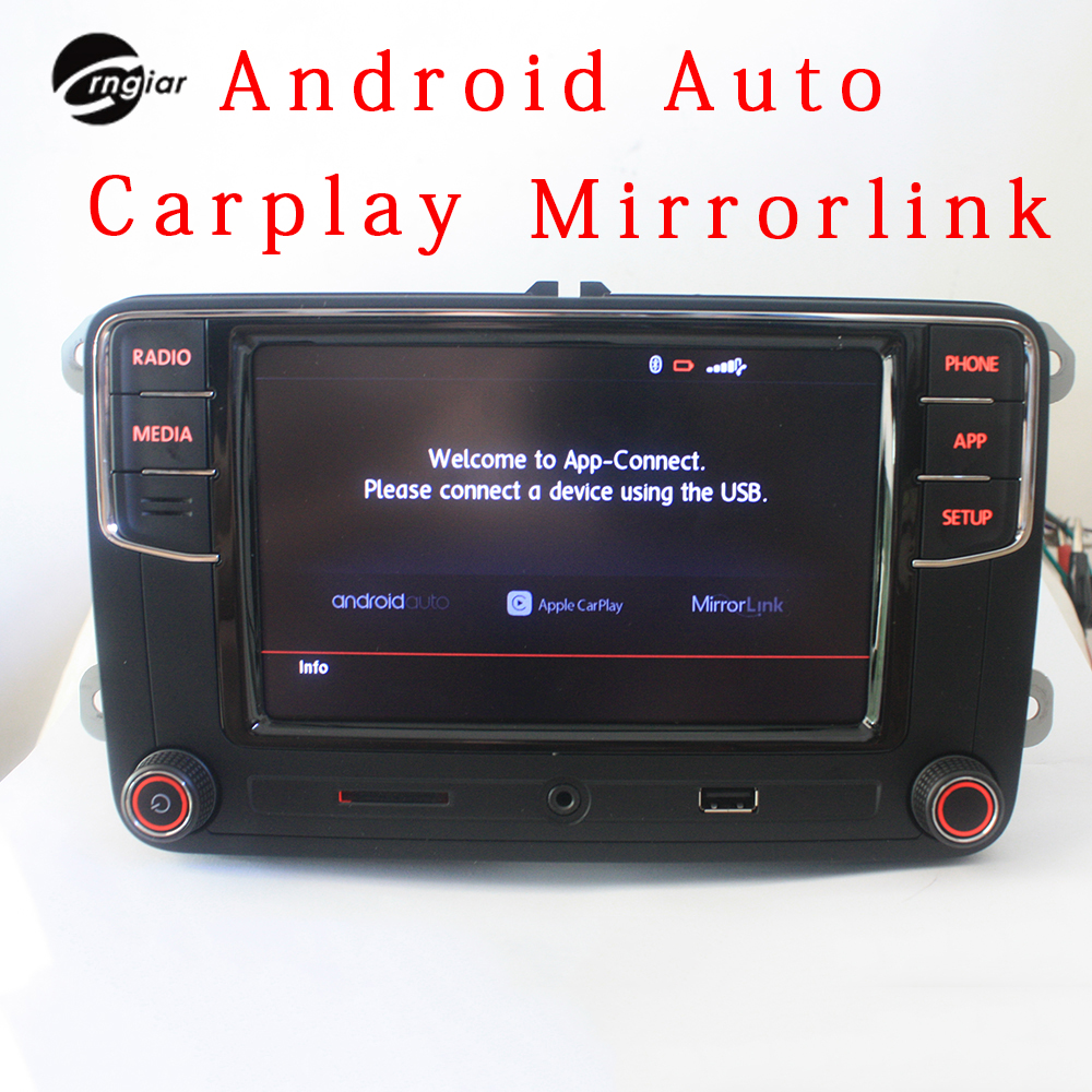 buy crngiar rcd330 rcd330g plus r340g 6 5 mib radio carplay app android auto. Black Bedroom Furniture Sets. Home Design Ideas