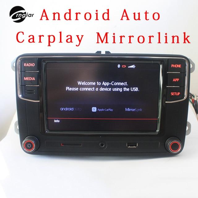 "Crngiar RCD330 RCD330g Plus R340G 6.5""MIB Radio Carplay App Android Auto For VW Tiguan Golf 5 6  Ameo MK5 MK6 Passat Polo Touran"
