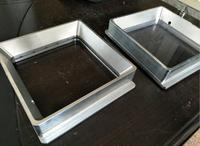 aluminum alloy Resin Tank High transmittance quartz glass resin tank For DIY Form SLA DLP 3D printer