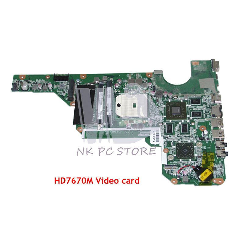 NOKOTION 683030-001 683030-501 Pour Hp Pavilion G4 G6 G4-2000 G6-2000 G7Z-2100 Ordinateur Portable Carte Mère DDR3 HD7670M carte Vidéo