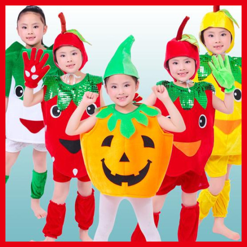 b76b87cb3b90a US $202.0 |10pcs/lot Free Shipping New Fruit Vegetable Plant Design  Halloween Kids Boys Girls Fancy Dress Clothes Children Carnival Costume-in  ...