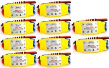 10PCS 30A Brushless 450 helicopter multicopter Motor Speed Controller RC ESC +Free shipping