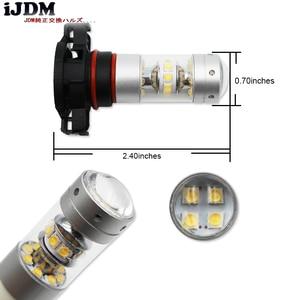 Image 2 - iJDM High Power PSX24W LED 5200s LED Bulbs For MINI Cooper F55 F56 Halogen Headlamp Trim For Daytime Running Lights, 6000K White