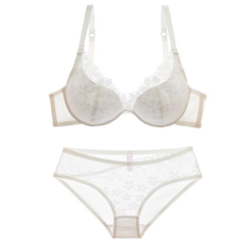 Shaonvmeiwu Women 39 s lace thin bra set sexy underwear underwear set women 39 s bra with cotton lining in Bra amp Brief Sets from Underwear amp Sleepwears