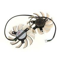 75mm Cooling Fan For MSI GTX 460 580 R6870 R6950 Twin Frozr II Dual Cooler Fan