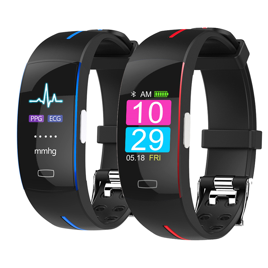 AIHAI H66plus blood pressure wrist <font><b>band</b></font> heart rate monitor PPG ECG <font><b>smart</b></font> bracelet <font><b>P3</b></font> C sport watch fitness tracker wristband image