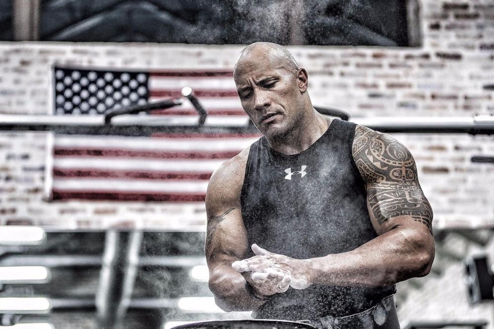 Online Shop Dwayne Johnson Inspiration Bodybuilding poste ...