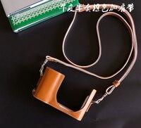 DSLR Waterproof Photo Camera Genuine leather Bag Body Case For Leica C LUX Digital Camera