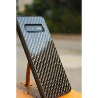 Ultra Hibrid Tasarlanmış Gerçek Karbon Fiber Samsung kılıfı Galaxy S10 S10 Artı Kapak Karbon Fiber Desen Samsung S10 E Kılıf