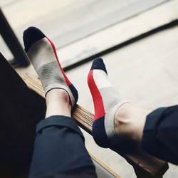 10 шт. = 5 пар с высокое качество чистый цвет хлопок человек шотландки, классика мужские безбортные носки, носки, прохладный бесплатная