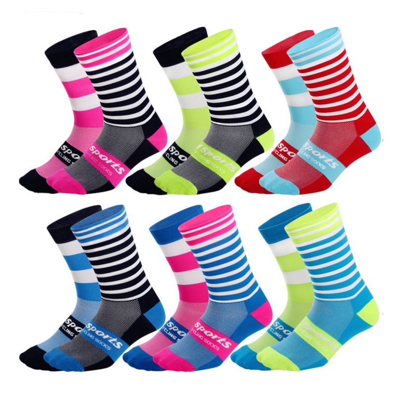 TheFun-Z Custom Pink Orange Blush Butterflies Socks Novelty Funny Cartoon Crew Socks Elite Casual Socks