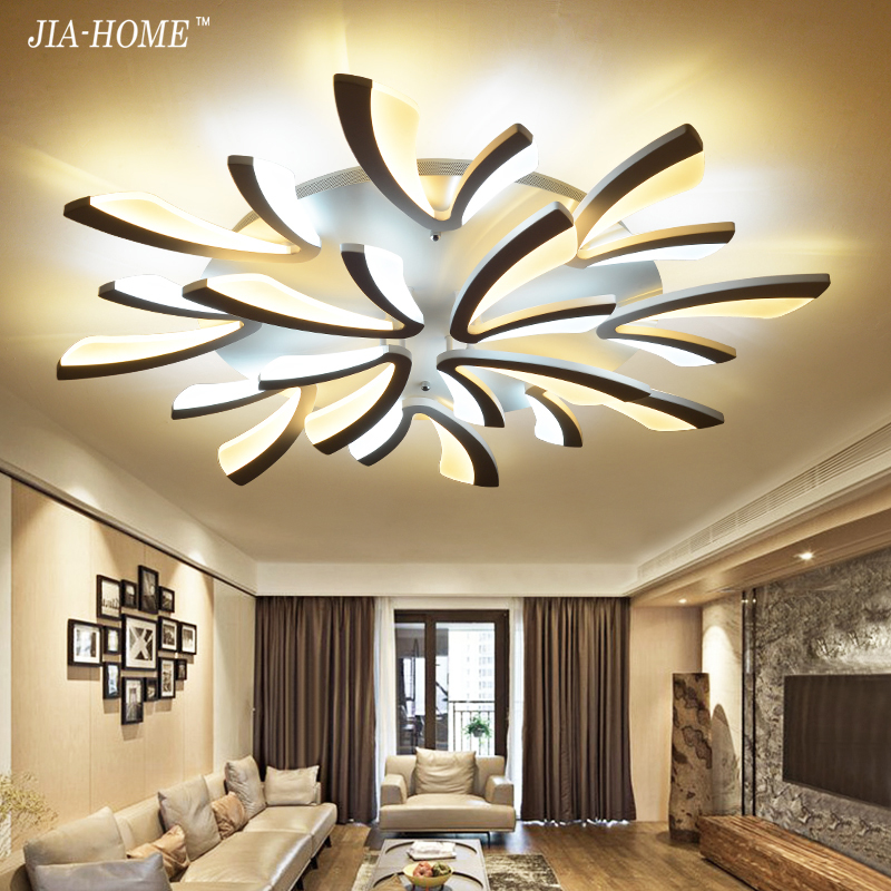 Acrylic Dimmer Modern led ceiling chandelier lights for living room bedroom dining room home Chandelier lamp fixtures AC 90-260V ultra thin pendant lights cord lamp dining room lustres 90 260v chandelier ce ul for kitchen led ceiling fan hang fixtures