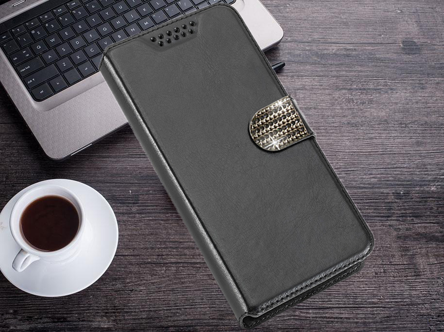 For Senseit E500 Luxury Case Fashion PU Leather Wallet Card Slot Stand Flip Protect the phone case For Senseit E 500