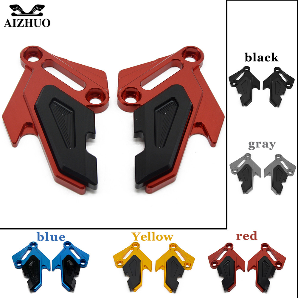 Motorcycle For Kawasaki Z900 2017 Z800 Z800E 2013-2016 Z650 Front Brake Disc Caliper Brakecaliper Guard Protector Cover for kawasaki z650 z900 2016 2017 z800 2013 2016 versys 650 2010 2017 motorcycle accessories cnc front brake reservoir cover