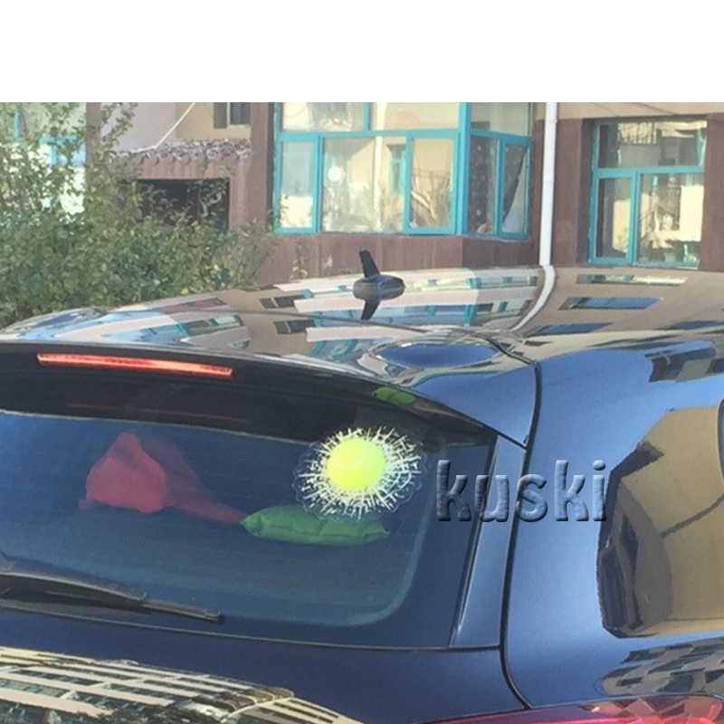 ZD Hits Tenis Mobil Styling Mobil Jendela Sticker untuk Citroen C4 C5 Kia Cerato Sorento Ceed Opel Astra H J G Insignia Vectra C 2017