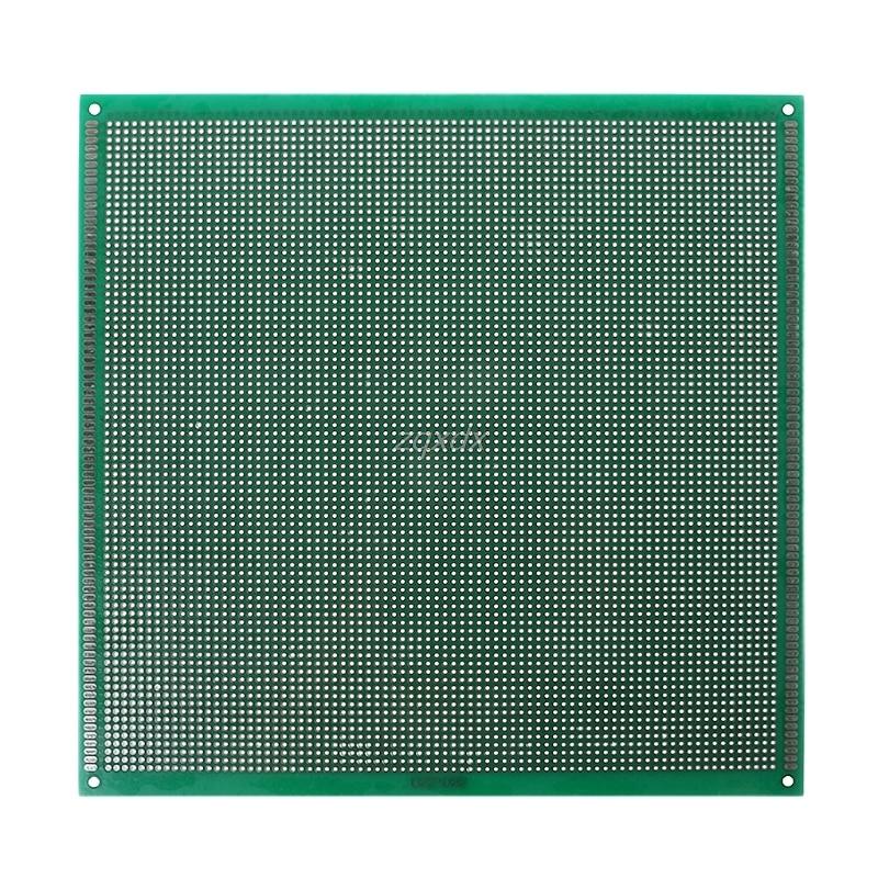 22x22 cm Double Side Prototyp PCB Verzinnt DIY Universal FR4 Leiterplatte Z07 Drop schiff