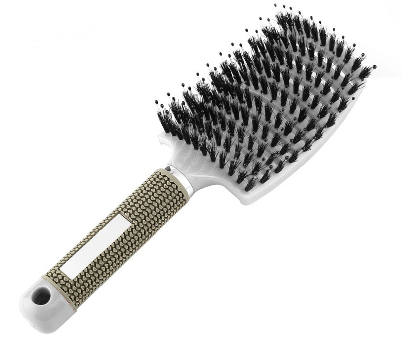 Bristle Hair Brush Scalp Massage Comb Magic Detangle Hairbrush For Tangle Hair Brush Salon Hairdressing Styling Tools Massager 10