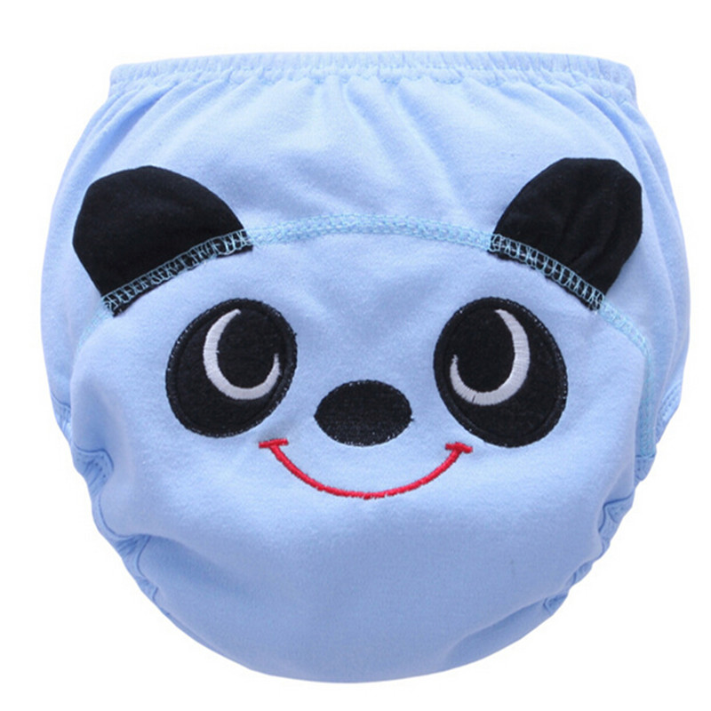 Hot Selling Cotton Baby Reusable Diapers Washable Cloth Diaper Cover Children Baby Nappies Baby Swim Nappy Training Pants 3 Size