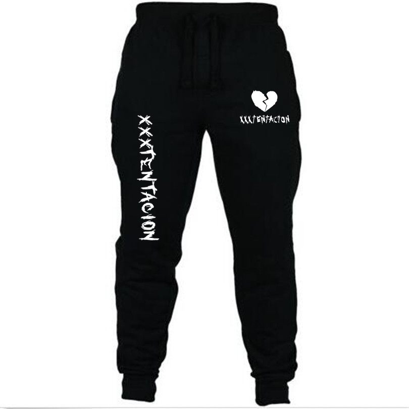 2018 New Rapper Xxxtentacion Pants Summer Fall Casual Trousers Straight Pants Sweatpants Harem Pants Cartoon Mens Jogger Pants