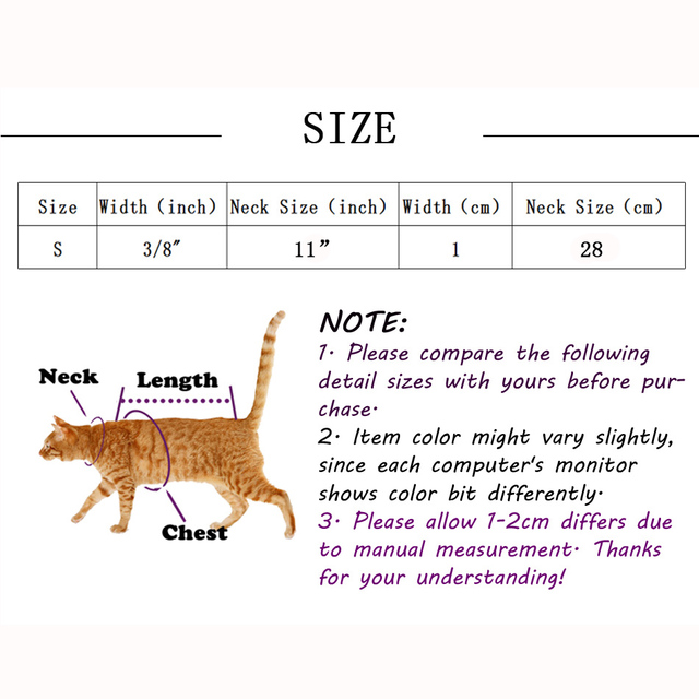 Kitten Heart Charm and Bell Collar Safety Elastic Adjustable With Soft Velvet 5 Colors  6