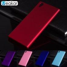 Matte Plastic Coque Cover 5.0For Sony Xperia L1 Case For Sony Xperia L1 L 1 Dual G3312 G3311 G3313 Phone Back Coque Cover Case