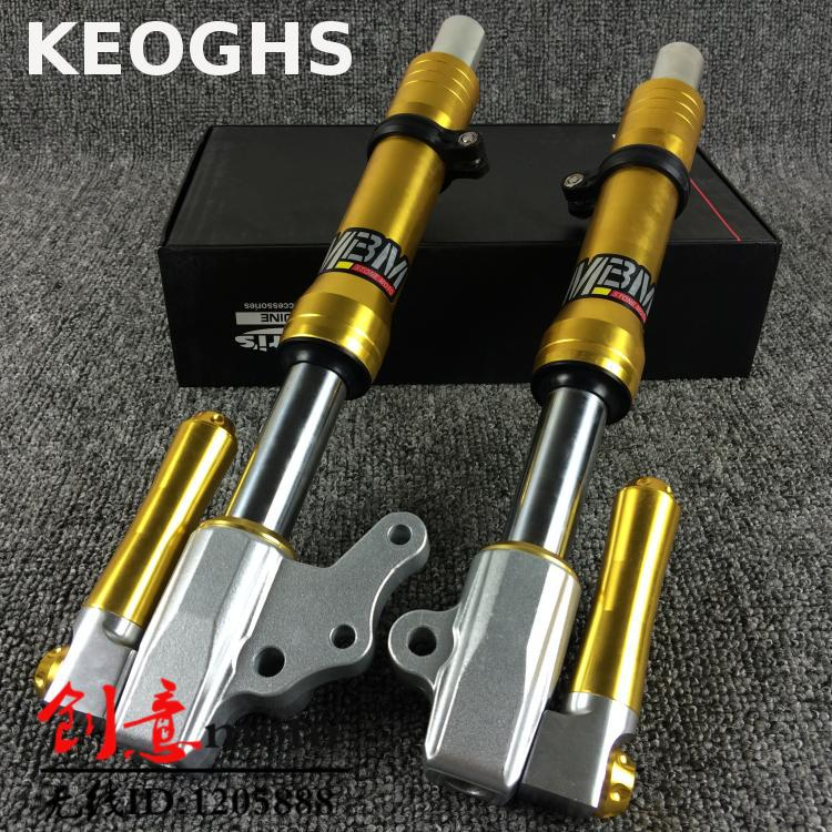 цена на Keoghs Motorcycle 27mm Front Fork Suspension Tube Shock Absorber For Yamaha Scooter Force Jog Rsz
