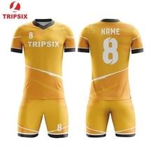 122c05abd21 Digital Printing 5XL Orange Screen Print Soccer Jersey With Collar(China)