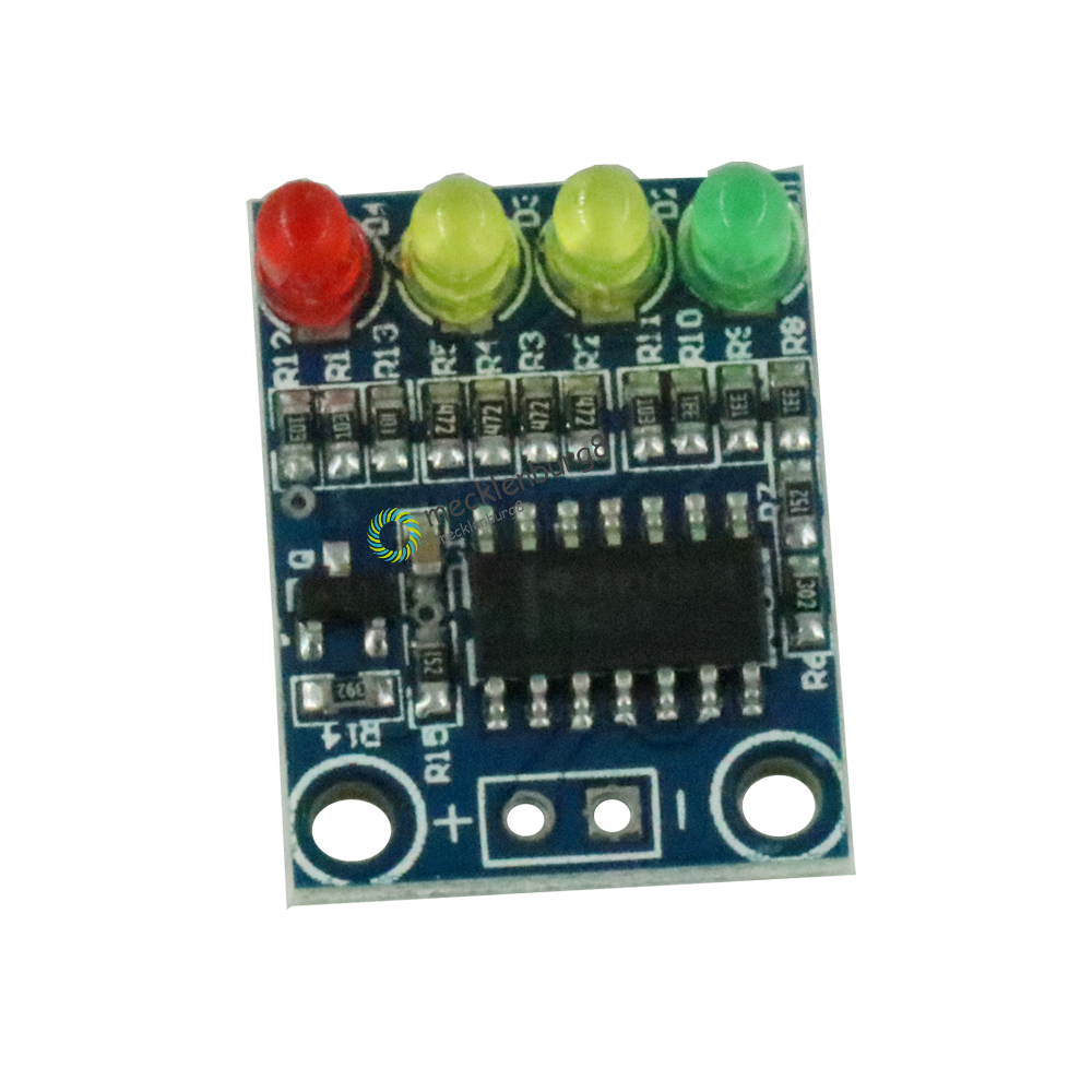 12V Electric Number 4 Power Indicator Battery Detection Module For Arduino Top