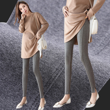 High Waist Stomach Lift Maternity Leggings Solid Color Legging Clothes New Spring Pregnancy for Pregnant Women