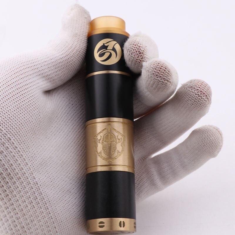Nuovo XFKM 24mm meccanico mod kit-UNA sigaretta Elettronica atomizzatore vape con E sigaretta meccanico mod 510 filo