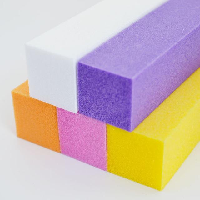 Sanding Gel Polish Nail Files Buffer Block Nail File Nail Polishing ...