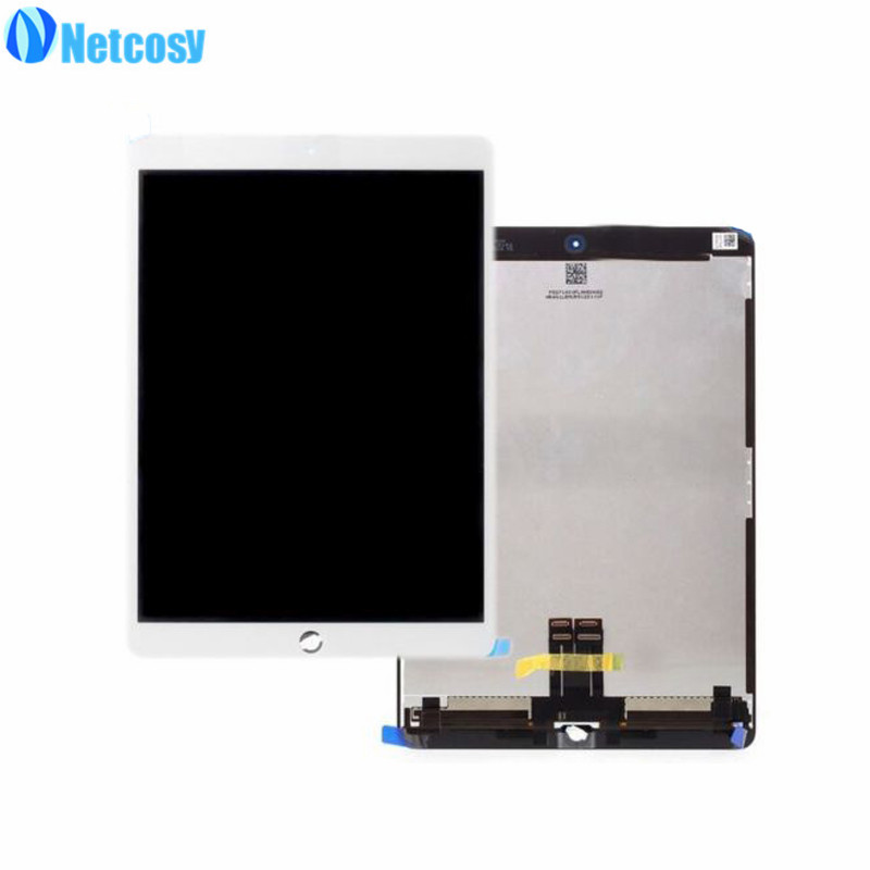 Netcosy For ipad Pro 10.5 LCD Screen High quality LCD display+Touch screen assembly Replacement parts For ipad Pro 10.5 original a1419 lcd screen for imac 27 lcd lm270wq1 sd f1 sd f2 2012 661 7169 2012 2013 replacement