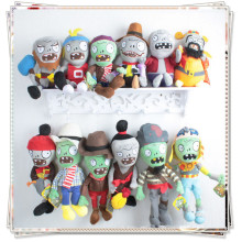 Plants vs zombies plush soft toy plants vs zombies cupcake doll toys for children plants vs zombies plush set cheap toys все цены