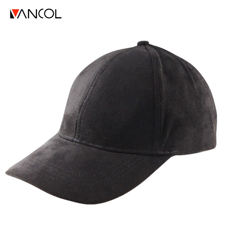 5ea0a8cbc2e Vancol Wholesale Summer Snapback Cap Women 2016 Fashion Brand Bone Hip Hop  Caps Men Casquette Suede Hats Black Pink Baseball Cap