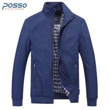 Autumn blue bomber jacket men thin winter jacket for men waterproof men fall casual jacket plus size long sleeve winter coat men