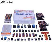 Best price Miroad 38 in 1 Modules Sensor Kit with Tutorials for Raspberry Pi RPi 3 2 Model B B+ A 44 Components Kits for Raspberry Pi K47