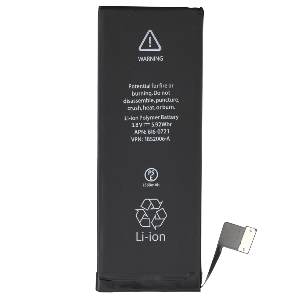 Goldfox Phone-Battery Replacement 1560mah For 5s With Tools-Kit High-Quality