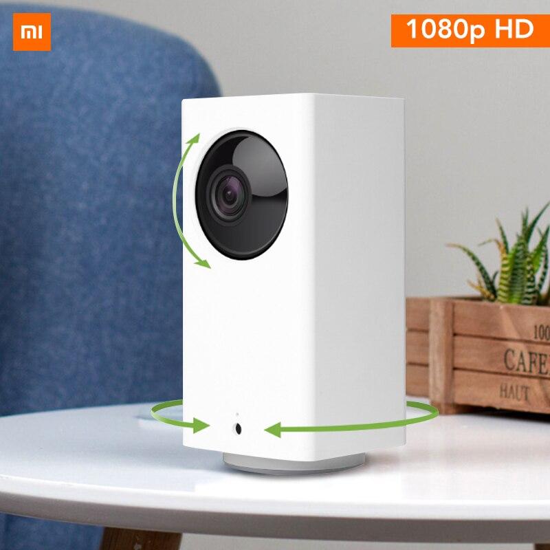 Original Xiao mi mi jia caméra IP Dafang moniteur Intelligent 110 degrés 1080p HD sécurité intelligente WIFI Vision nocturne pour mi Home App