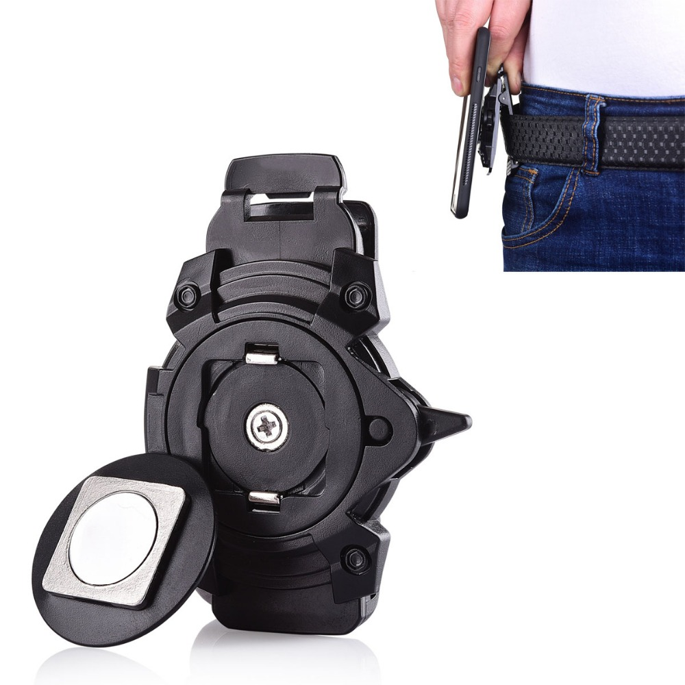 Business Man Waist Belt Clip Case Cover Phone Holder Universal For iPhone X 5 6 7 8 Plus for Samsung S9 S8 for Huawei for XiaoMi