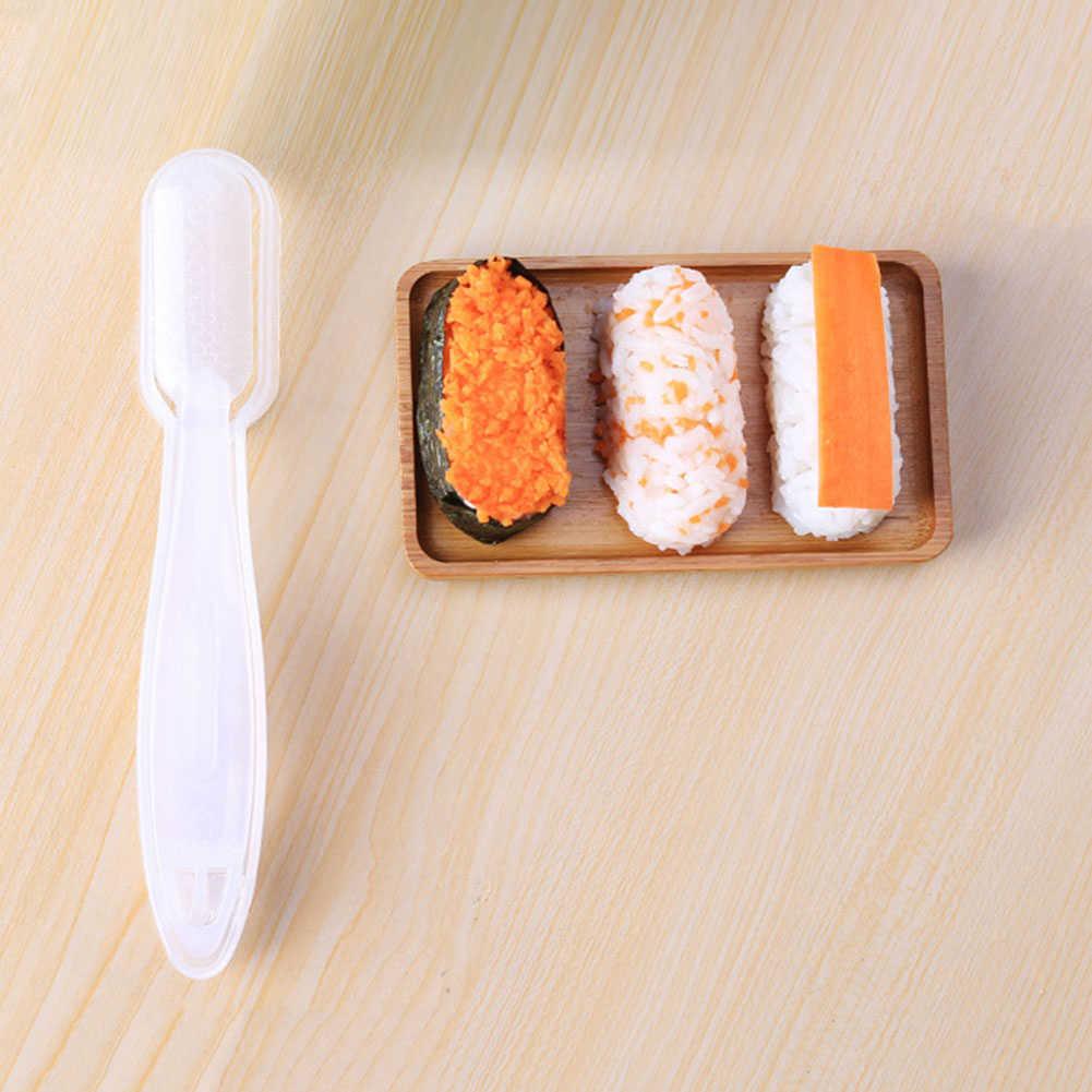 1 pc Bolas Sushi Criador Mould com Colher Arroz Moldes Bola De Arroz de Carne Legumes DIY Fazendo Utensílio De Cozinha que cozinha Ferramentas conjunto